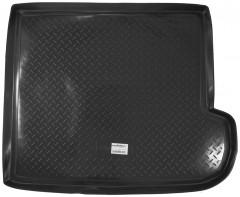 Коврик в багажник для Subaru Tribeca '04-14, 5 мест, резино/пластиковый (Norplast)