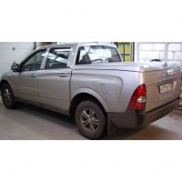Крышка кузова + крепеж для Mitsubishi L200 / Triton '05-15 Silver