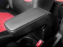 Фото 10 - Подлокотник Armster S для Toyota Yaris '06-10 с адаптером (чёрный)