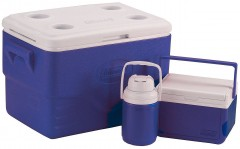 Набор термобоксов Coleman36 Quart Cooler Combo Blue