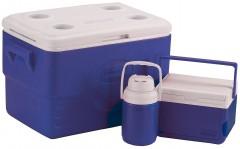Набор термобоксов Coleman 48 Quart Cooler Combo Blue