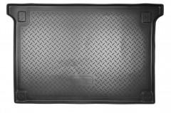 Коврик в багажник для Citroen Berlingo '08-18 (пасс.), резино/пластиковый (Norplast)