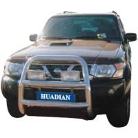 Метал. защита переднего бампера для Nissan Patrol '98-04