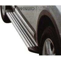 Метал. декоративные пороги Nissan Qashqai '06-14