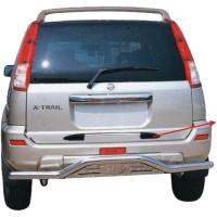 Метал. защита заднего бампера для Nissan X-Trail '02-04