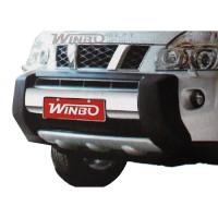 Пластик. защита переднего бампера для Nissan X-Trail '07-on