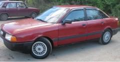 Дефлекторы окон для Audi 80 '86-95, седан (Cobra)