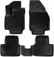 Коврики в салон 3D для Opel Meriva '10- полиуретановые, черные (L.Locker)