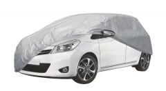 Тент автомобильный для хетчбэка Vitol Peva+Non Woven M (HC13403)