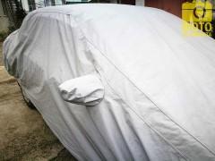 Фото 4 - Тент автомобильный для джипа / минивена Vitol Peva+Non-PP Cotton L (JC13402)
