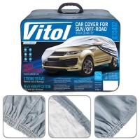 Фото товара 2 - Тент автомобильный для джипа / минивена Vitol Peva+Non-PP Cotton XXL (JC13402)