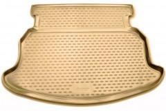 Коврик в багажник для Geely Emgrand EC7-RV '11- хетчбэк, полиуретановый (Novline / Element) бежевый