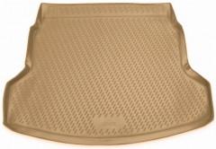 Коврик в багажник для Honda CR-V '12-17, полиуретановый (Novline / Element) бежевый