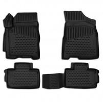 Коврики в салон для Acura RDX '14- полиуретановые, черные (Novline / Element) 3D