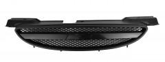 Решетка радиатора для Chevrolet Aveo '04-05 SDN/HB, черная полоска (FPS)