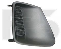 Решетка бампера для Toyota Corolla '10-13 без ПТФ, левая (FPS)