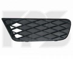 Решетка бампера для Honda Civic 4d '09-11 без ПТФ, левая (FPS)