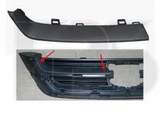 Решетка радиатора для Honda CR-V '10-12 верхн. правая, черная (FPS)
