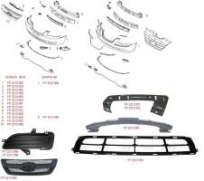 Решетка бампера для Hyundai Sonata '05-07 средняя (FPS)