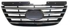 Решетка радиатора для Hyundai Sonata '08-10 хром/черная (FPS)