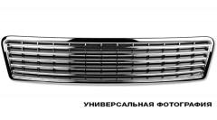 Накладка решетки радиатора для Hyundai Getz '02-05 черная (FPS)