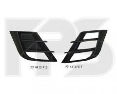 Решетка бампера для Mazda 3 '09-13 под ПТФ, левая (кроме usa) (FPS)