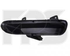 Решетка бампера для Mazda 6 '08-10 правая, черная (нижняя заглушка) (FPS)