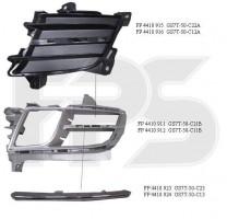 Решетка бампера для Mazda 6 '08-10 правая, черная (верхняя) (FPS)