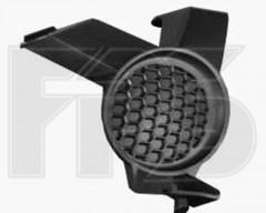 Решетка бампера для Nissan Qashqai '06-09 без ПТФ, левая (FPS)