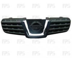 Решетка радиатора для Nissan Qashqai '06-09 (FPS)