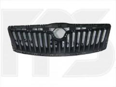 Решетка радиатора для Skoda Octavia A5 '09-13 черная, внутр. (FPS)
