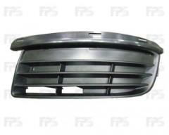 Решетка бампера для Volkswagen Golf V '07-09 Универсал без ПТФ, правая (FPS)