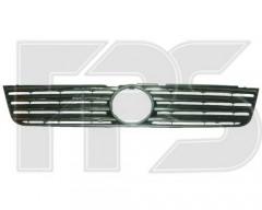 Решетка радиатора для Volkswagen Passat B5 '97-00 черная, с хром накладами (FPS)