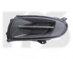Решетка бампера для Kia Cerato '06-09 Седан без ПТФ, левая (FPS)