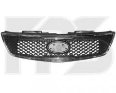 Решетка радиатора для Kia Cerato '09-11 хром рамка (FPS)