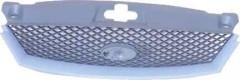 Решетка радиатора для Ford Mondeo '01-03 черная, с рамкой под грунт. (FPS)