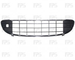 Решетка бампера для Peugeot 407 '04-10 средняя (FPS)