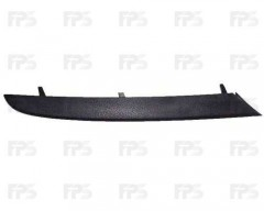 Накладка решетки в бампере BMW 3 E90 '05-08 левая (FPS)