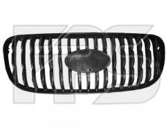 Решетка радиатора для Kia Picanto '04-07 черная (FPS)