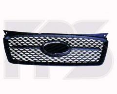 Решетка радиатора для Kia Picanto '07-10 черная (FPS)