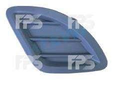 Решетка бампера для Kia Ceed '06-10 без ПТФ, левая (FPS)