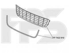 Решетка бампера для Volkswagen Caddy '11-15 средняя (FPS)