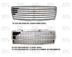 Решетка радиатора для Mercedes C-Class W202 '93-01 (Avantgarde) комплект (FPS)