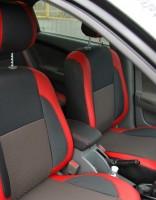 Авточехлы Premium для салона Chevrolet Lacetti '03-12 (SX, SE) красные (MW Brothers)