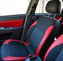 MW Brothers Авточехлы Premium для салона Chevrolet Aveo '04-11, седан красные (MW Brothers)