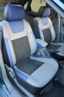 Авточехлы Leather Style для салона Chevrolet Lacetti '03-12 (SX, SE) (MW Brothers)