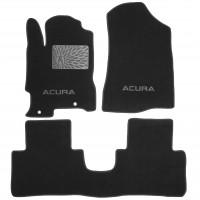 Коврики в салон для Acura RDX '06-13 текстильные, черные (Люкс)