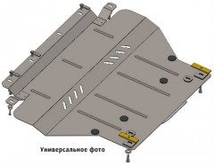 Кольчуга Защита  картера двигателя, КПП + крепеж для Audi A3 '04-12, АКПП/МКПП, V-все (Кольчуга)