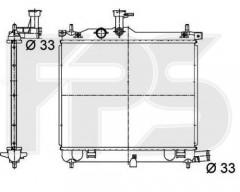 Радиатор охлаждения двигателя для HYUNDAI (KOYORAD) FP 32 A256-X