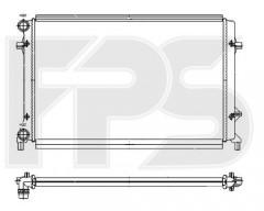 Радиатор охлаждения двигателя для SEAT / SKODA / VW (FPS) FP 64 A473-P
